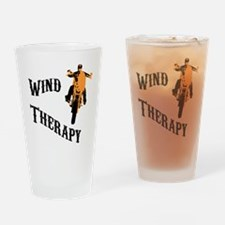 wind therapy Drinking Glass