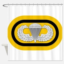 1st SF Airborne Shower Curtain