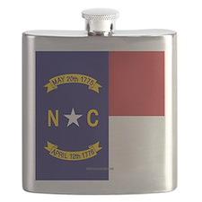 North Carolina Flag, NC State Flag Flask
