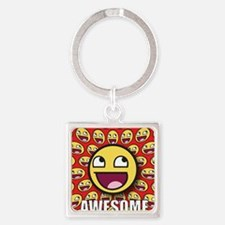 1CAFEPRESS awesome1 Keychains