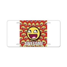 1CAFEPRESS awesome1 Aluminum License Plate