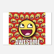 1CAFEPRESS awesome1 Postcards (Package of 8)