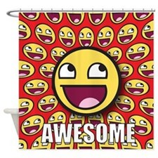 1CAFEPRESS awesome1 Shower Curtain