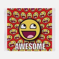 1CAFEPRESS awesome1 Throw Blanket