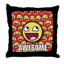 1CAFEPRESS awesome1 Throw Pillow