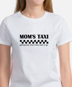 Mom's Taxi (getting kids...) Women's T-Shirt