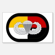 3rd SF Airborne Sticker (Rectangle)