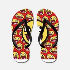1CAFEPRESS awesome2 Flip Flops
