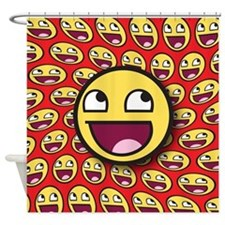 1CAFEPRESS awesome2 Shower Curtain