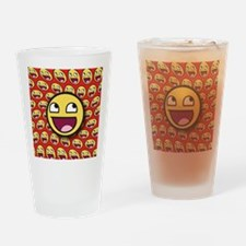 1CAFEPRESS awesome2 Drinking Glass
