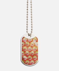 Awesome Face Dog Tags