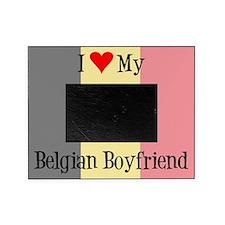 Love My Belgian Boyfriend Picture Frame