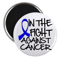 "In The Fight Colon Cancer 2.25"" Magnet (100 pack)"