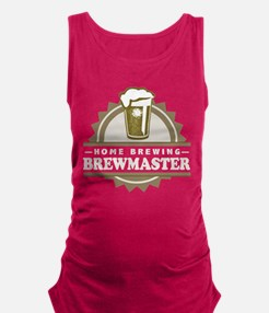 Brewmaster Home Beer Brewer Maternity Tank Top
