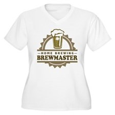 Brewmaster Home Beer Brewer Plus Size T-Shirt