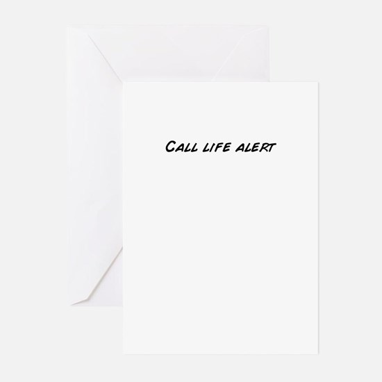 Unique Alert Greeting Cards (Pk of 20)