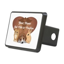 Personalized Veterinary Hitch Cover