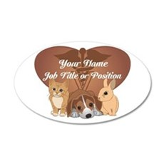 Personalized Veterinary Wall Decal