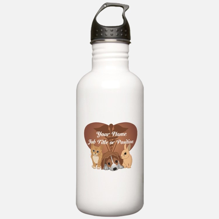 Personalized Veterinary Water Bottle