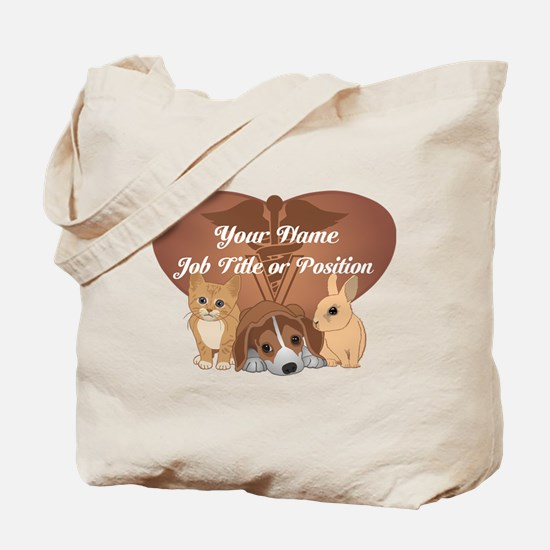 Personalized Veterinary Tote Bag