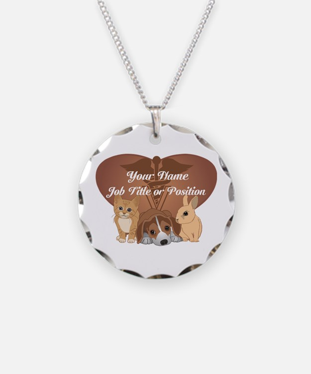 Personalized Veterinary Necklace