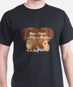 Personalized Veterinary T-Shirt