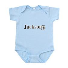 Brown Jackson Name Body Suit