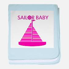 Sailor Baby baby blanket
