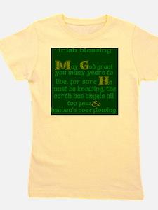 Green Angels Overflowing Girl's Tee
