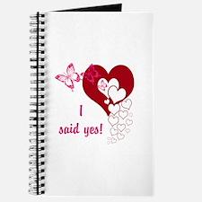 I Said Yes Journal