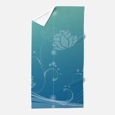 Funny Team lotus Beach Towel