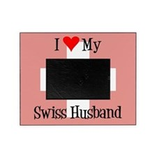 Love My Swiss Husband Picture Frame