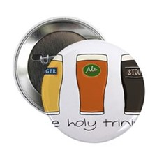 """The Holy Trinity 2.25"""" Button"""