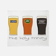 The Holy Trinity Throw Blanket