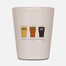 The Holy Trinity Shot Glass