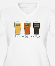 The Holy Trinity Plus Size T-Shirt