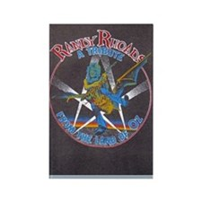 Randy Rhoads tribute Rectangle Magnet