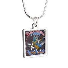 Randy Rhoads tribute Silver Square Necklace