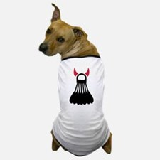 Badminton devil Dog T-Shirt