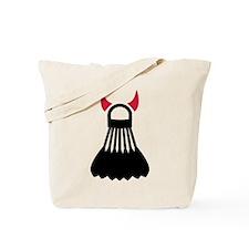 Badminton devil Tote Bag