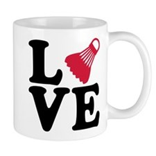 Badminton love Mug
