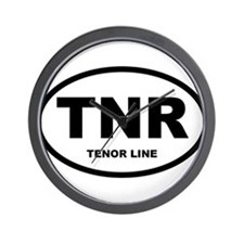 Tenor Drums Shirts and Gifts Wall Clock