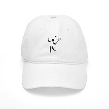 Badminton player symbol Baseball Cap