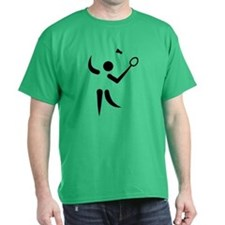Badminton player symbol T-Shirt