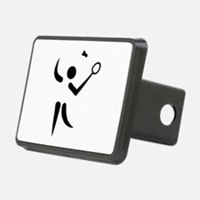 Badminton player symbol Hitch Cover
