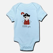RRRR-gyle Pirate Infant Bodysuit