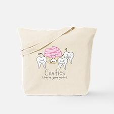 Cavities Tote Bag