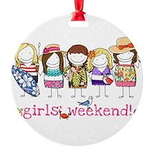 Girls' Weekend Ornament