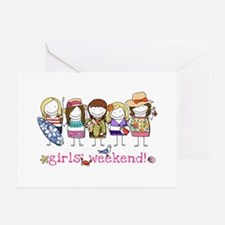 Girls' Weekend Greeting Card