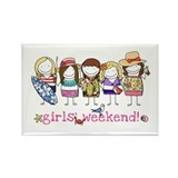 Girls weekend Magnets